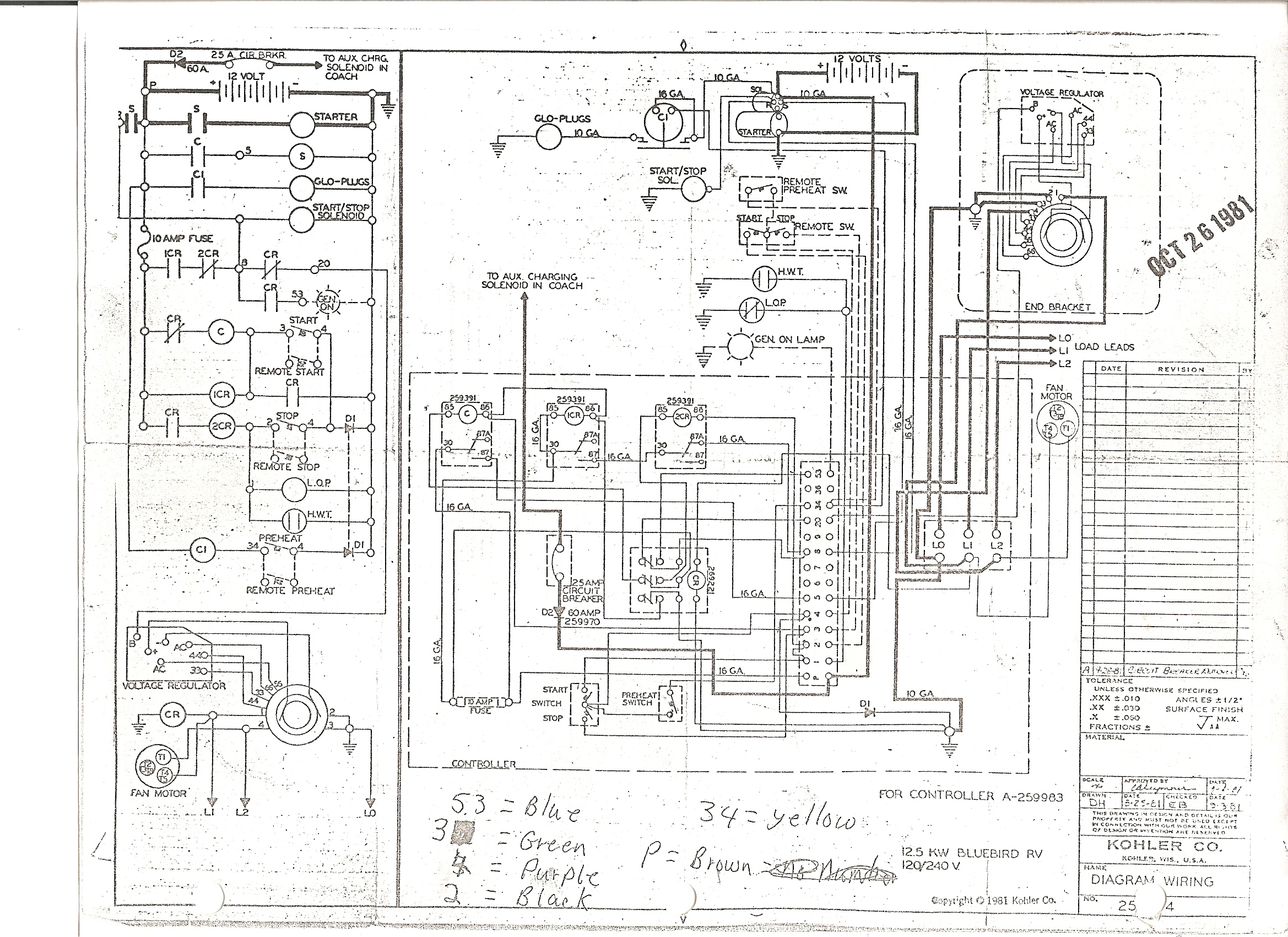 kohler generator schematics electrical work wiring diagram u2022 rh aglabs co  kohler 5e marine generator wiring diagram